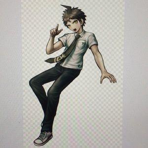 Anime Cosplay HAJIME HINATA DANGAN RONPA 2 Costume